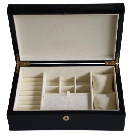Nr.500MP06 Watch and jewelry box, blue