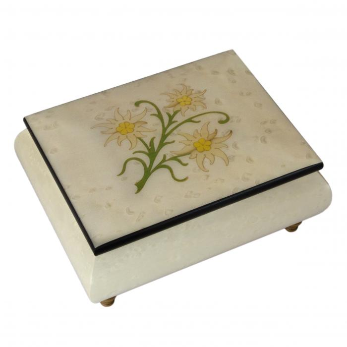 No.415E01 Edelweiss inlay white