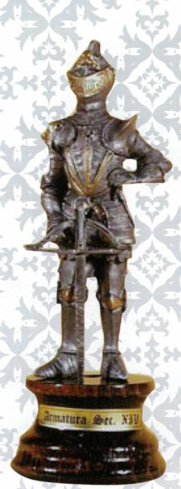 no. AW-ARM12 Knight with crossbow